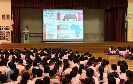 Assembly talk to create awareness on Environment
