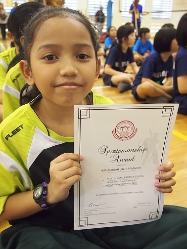 north zone volleyball competition: junior team most valuable player
