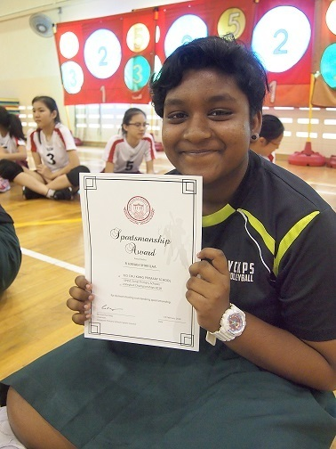 north zone volleyball competition: senior team most valuable player