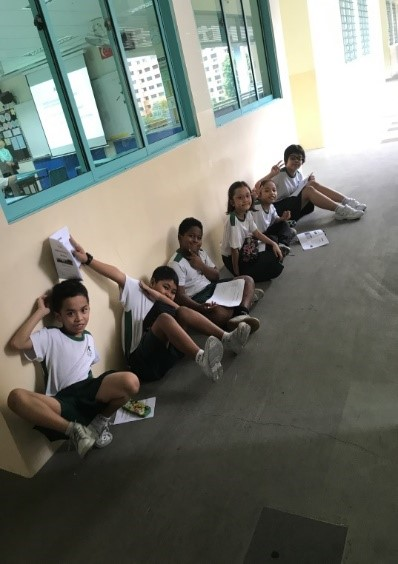 malay language culture camp: filling up activity handbook
