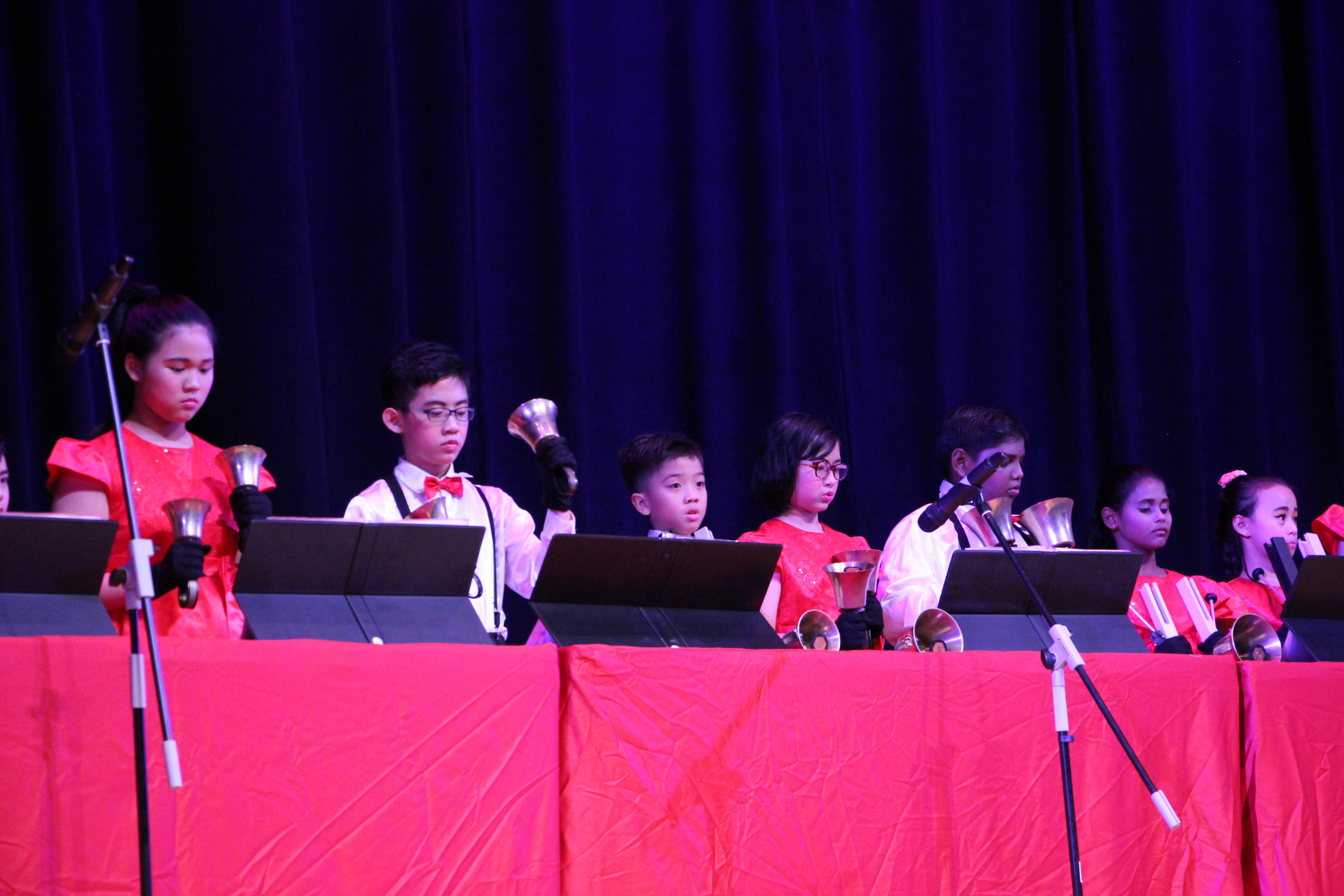 musical 2017 handbells performance