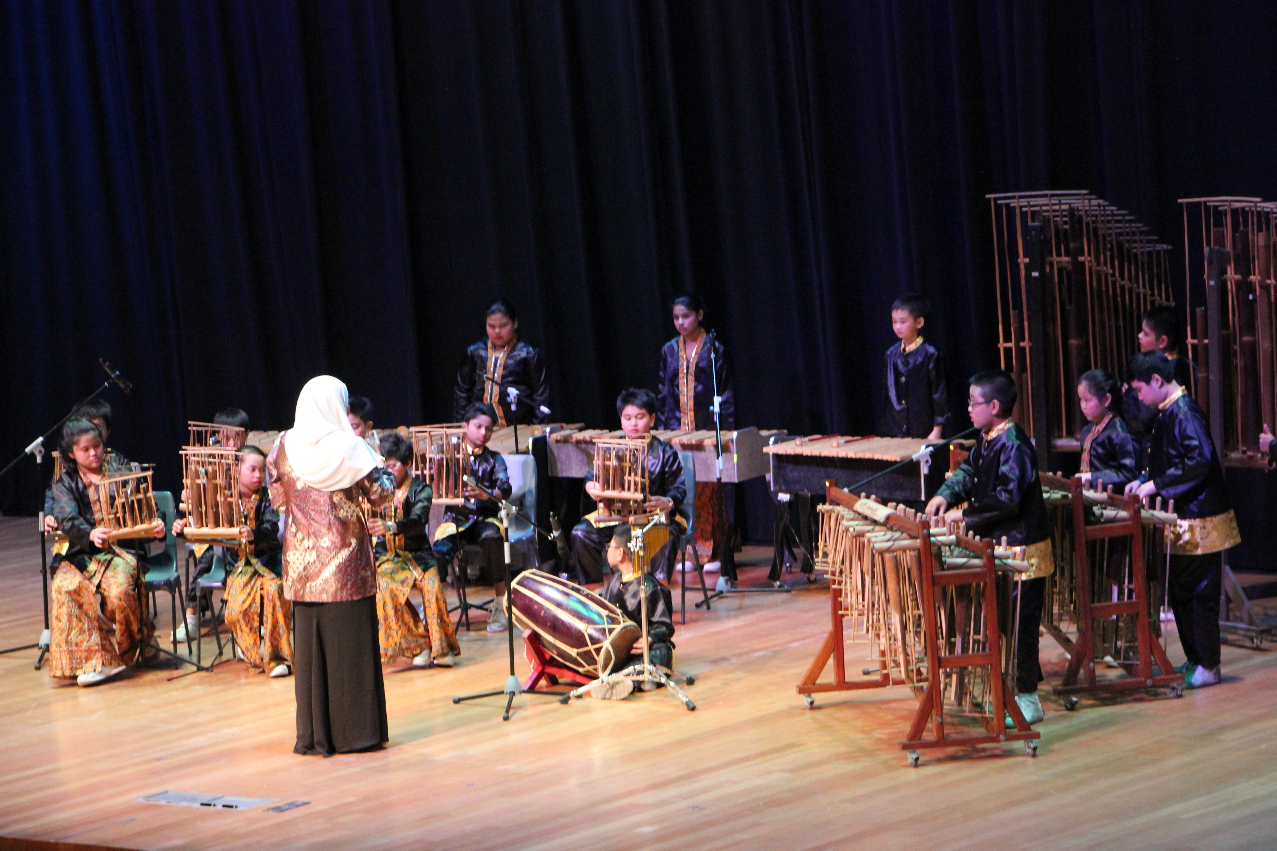 musical 2017 angklung performance